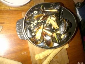 Tavern Caesar Mussels