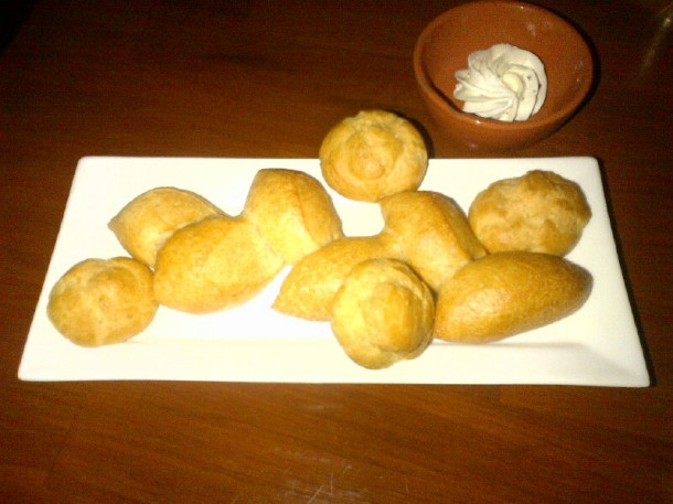 Bagettes and Gogueres ($4)