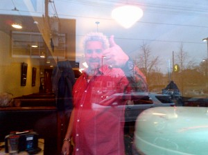 Guy Fieri at Lakeview in Toronto