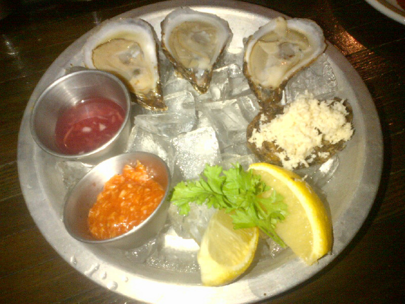 Rock Lobster Oysters