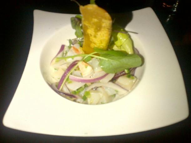 Seafood Cerviche ($21)