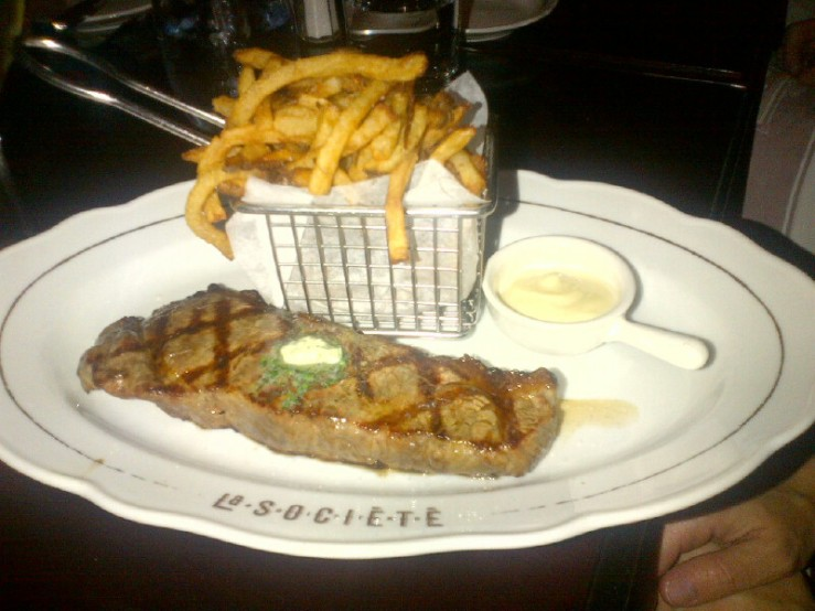 Steak Frites ($32)