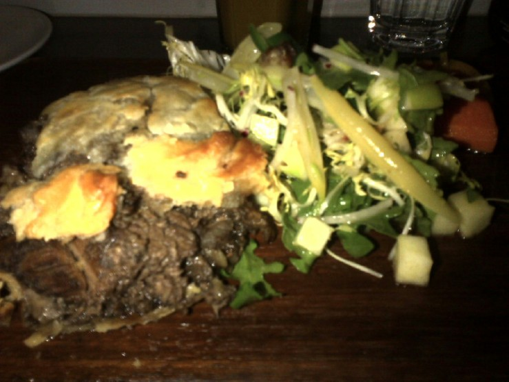 Venison and Boar Tourtiere