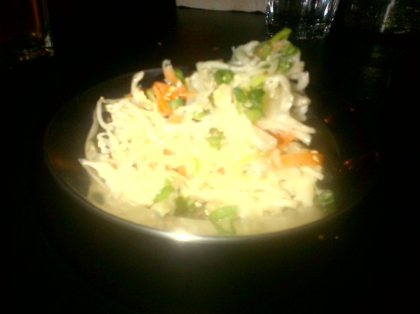 Bad Picture of Good Slaw ($3.50)