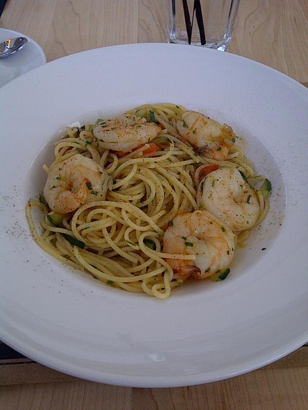 Gamberetti Spaghetti $16
