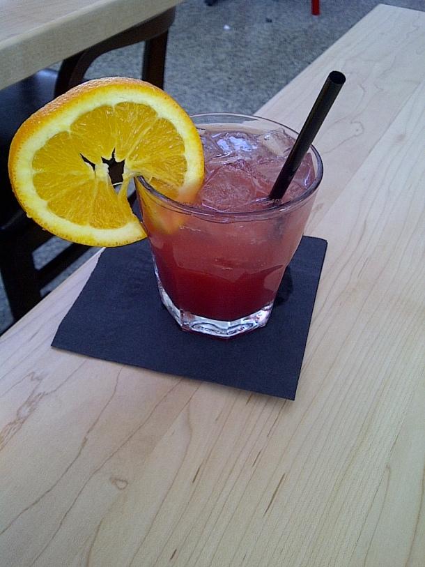 Blood Orange Cocktail $10