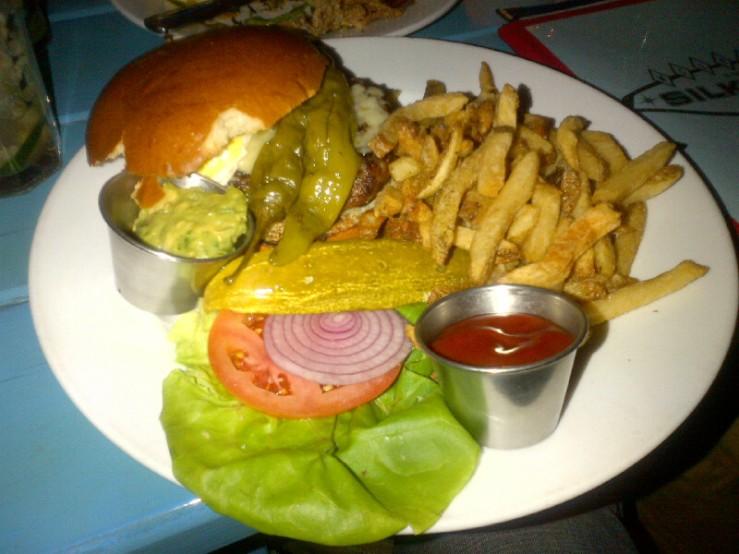Silk Burger