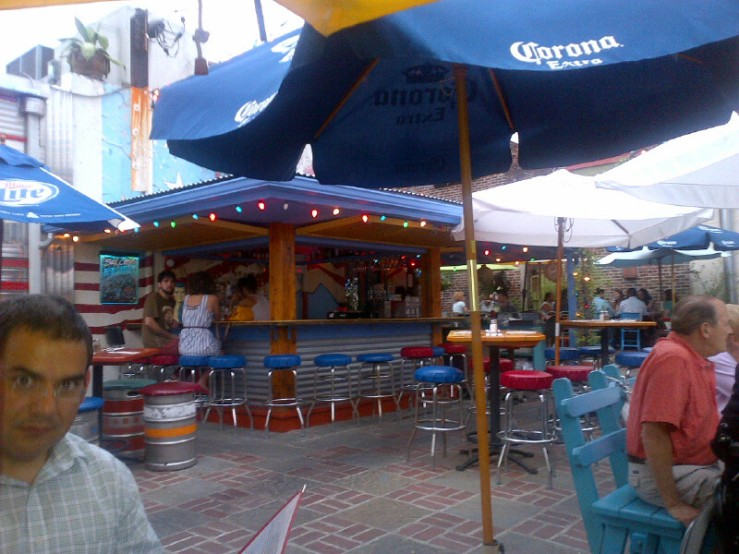 Silk City Diner Beer Garden