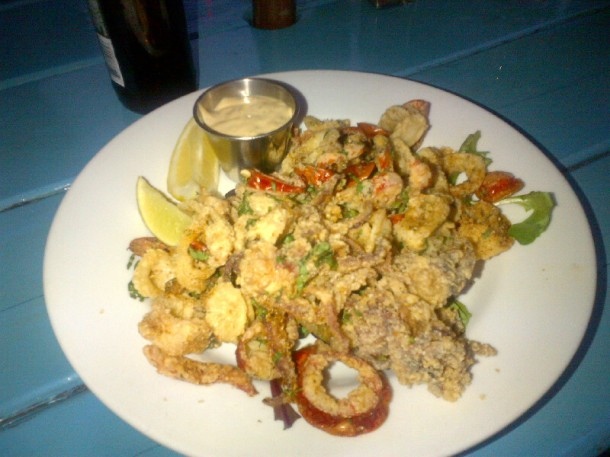 Spicy Fried Calamari