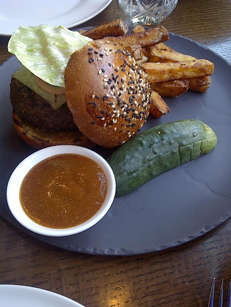 Weslodge Burger $18