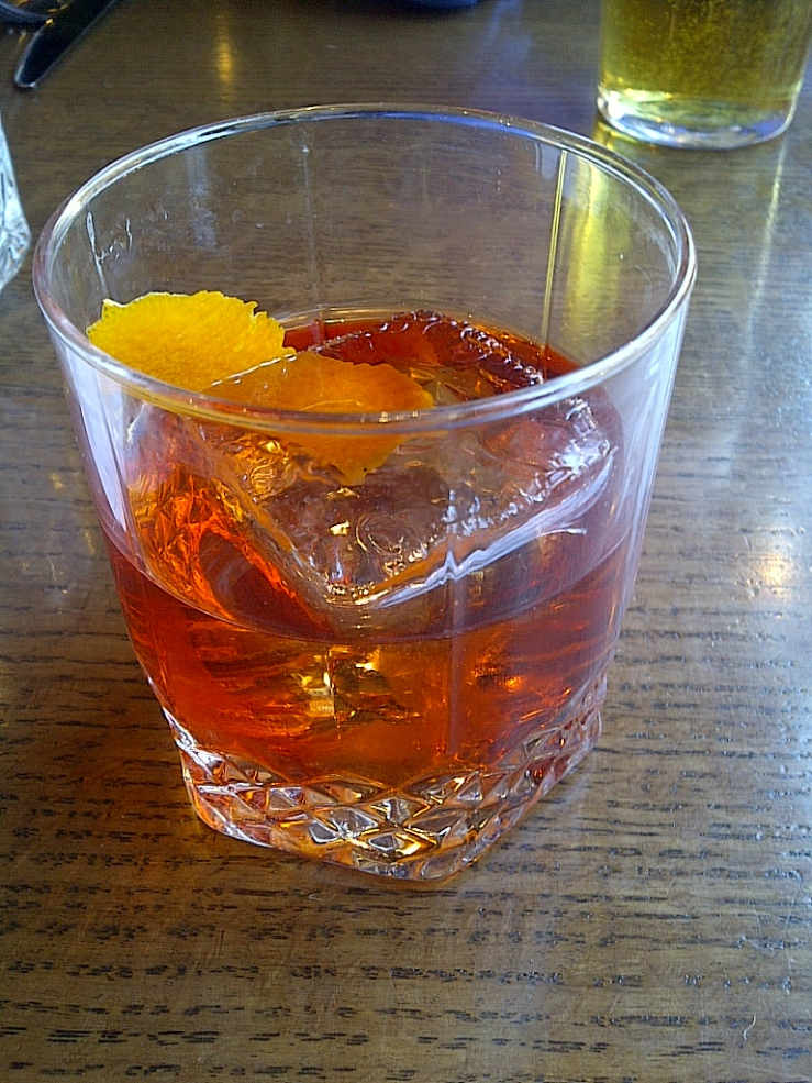 Orange Spiced Old-Fashioned ($15)