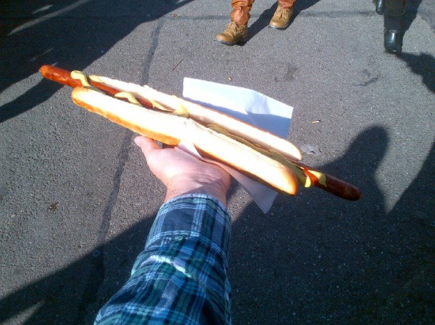 Sausage at octoberfest