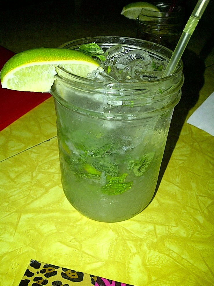 Jalapeno and Pineapple Mojito $9.30