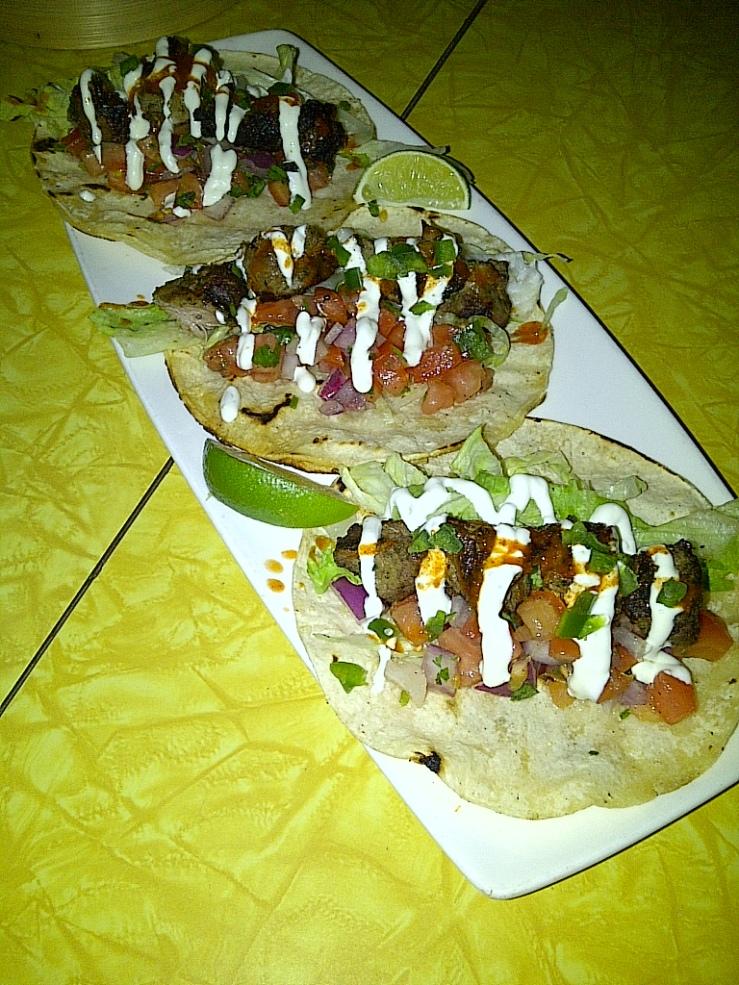 Chimichurri Tacos ($12)