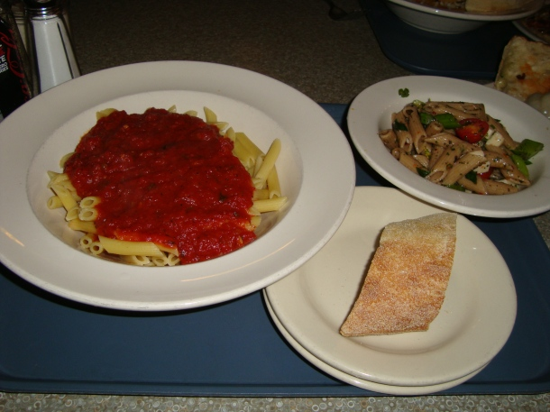 Pasta and Tomato Sauce and