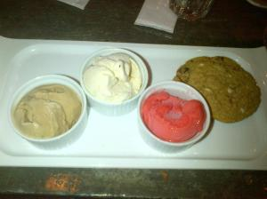 Barque Gelato and Cookies $9