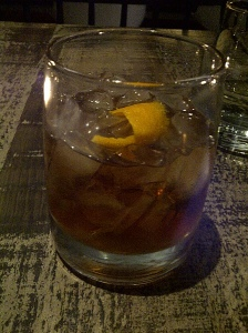 Maple Old-Fashioned $10