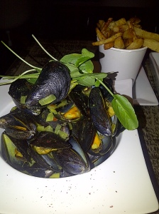 Moules and Frties $12
