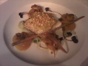 Black Cod (bad pic) Part of Group Meal