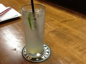 Kingyo Gin and Tonic $8