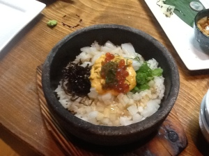 Stone Bowl Seafood Sea Urchin Don $13.80