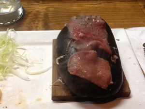 Stone Grilled Beef Tongue- Done!