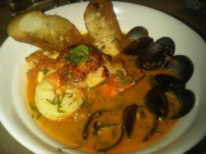 "Catalan Seafood Stew ""Zarzuela"" $25"