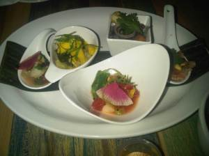Ceviche Flight $16