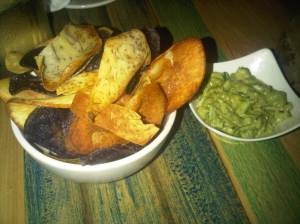 Guac and Chips $8