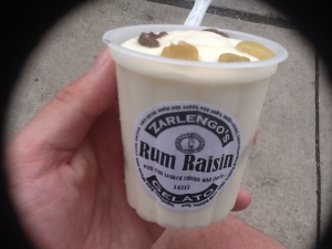 Zarlengo's Rum and Raisin Gelato