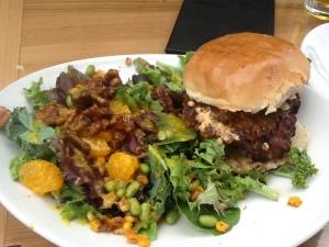 After burner burger $13