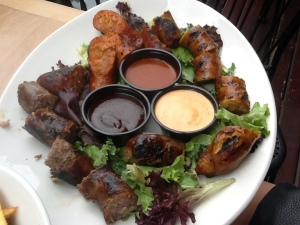 Sausage Sample Platter $14