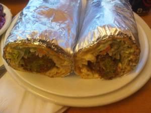 Falafel on Laffa $5.99