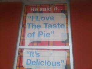 SIgn Outside Pie Wood Fired Pizza