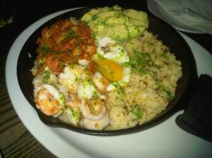 Bacon and Shrimp Bibimbap $14.25