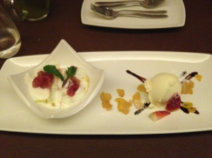 Course 4- Dessert
