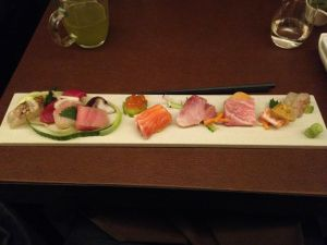 First Course- Sashimi