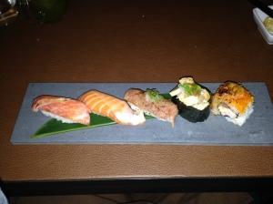 Thrid Course- Sushi Platter