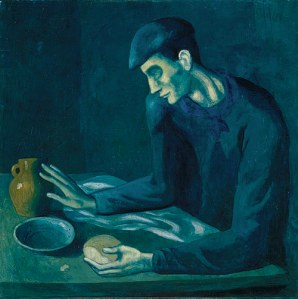 The Blind Man's Meal by Pablo Picasso-1903