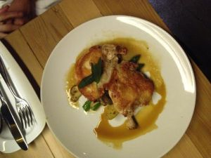 Crispy Roasted Chicken $18.70