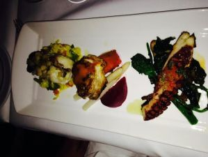 Skate, Monkfish and Octopus Taster