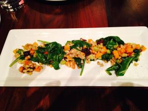 Butternut and Farro Salad $9