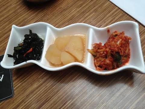 Banden- Seaweed Salad, Potatoes and Kimchi
