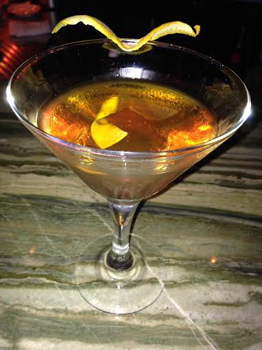 Burnt Orange Manhattan $10