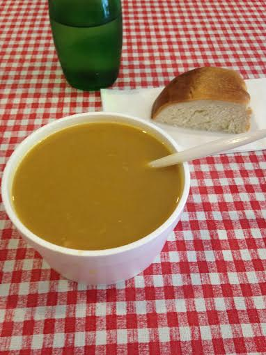 Split pea soup $3