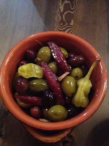 Smoked Olives $6
