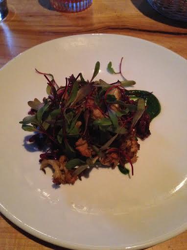 Woodlot Mushroom Salad