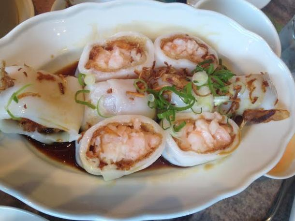 Shrimp Cheung Fun $12