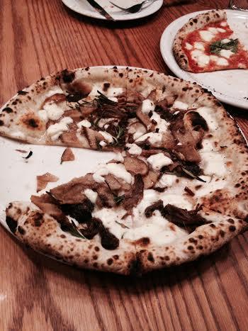 Cremini Pizza