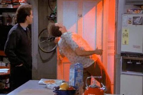 Kramer in the Kenny Rogers' Glow